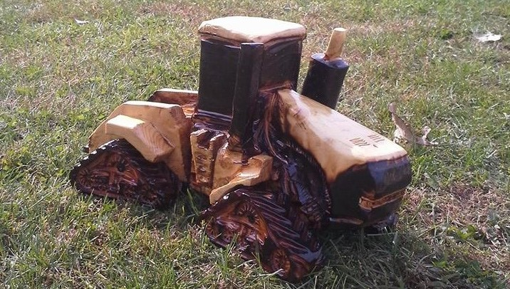 Timberjack chainsaw carvings custom in
